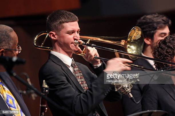 Juilliard Jazz Ensembles performing the music of Jelly Roll Morton and King Oliver at Paul Hall on Monday night April 13 2015This imageKyle Johnson