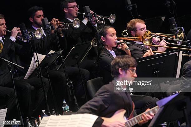 Juilliard Jazz Orchestra at Peter Jay Sharp Theater on Tuesday night, October 14, 2014.