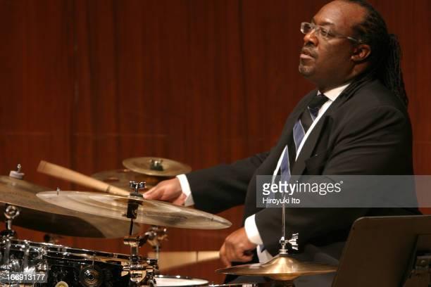 Juilliard Jazz Quintet performing at Paul Hall on Friday night November 11 2005This imageCarl Allen