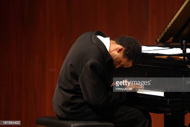 Juilliard Jazz Quintet performing at Paul Hall on Friday night, November 11, 2005.This image:Marc Cary .