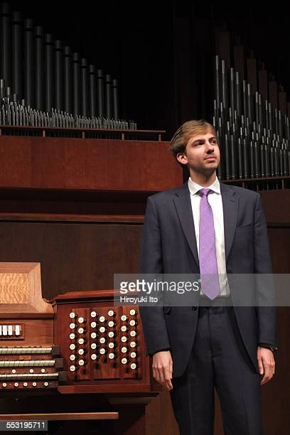 Juilliard organists at Paul Hall on April 30 2015This imageColin MacKnight