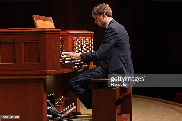 Juilliard organists at Paul Hall on April 30 2015This imageColin MacKnight