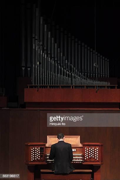 Juilliard organists at Paul Hall on April 30 2015This imageDan Ficarri