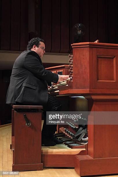Juilliard organists at Paul Hall on April 30 2015This imageDavid Ball