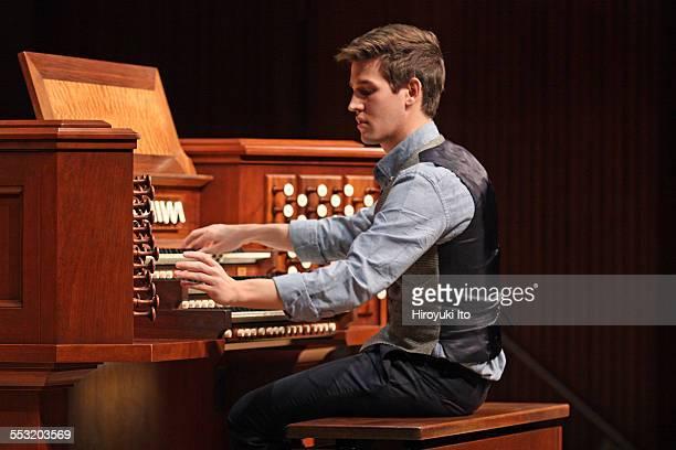 Juilliard organists at Paul Hall on April 30 2015This imageGreg Zelek