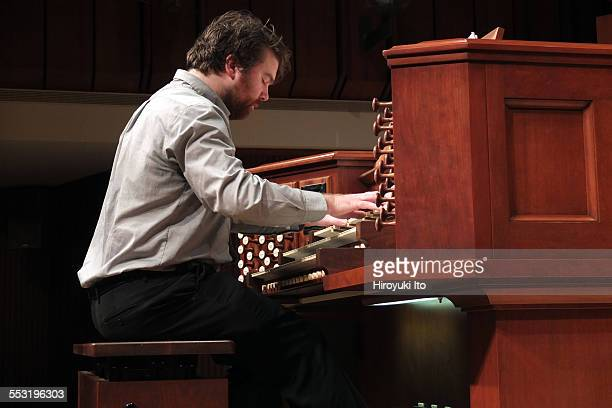 Juilliard organists at Paul Hall on April 30 2015This imageGriffin McMahon