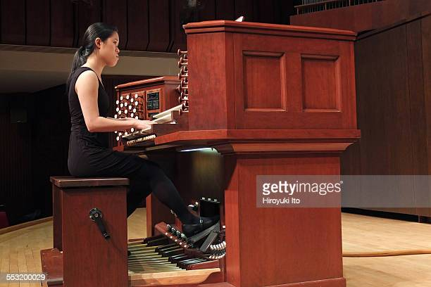 Juilliard organists at Paul Hall on April 30 2015This imageJanet Yieh