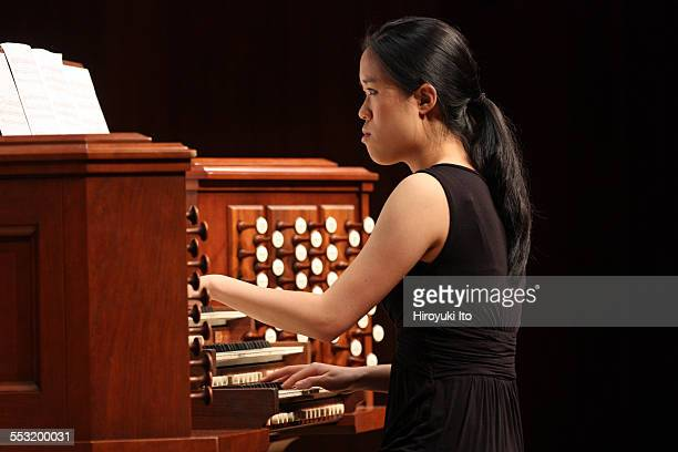 Juilliard organists at Paul Hall on April 30, 2015.This image:Janet Yieh.