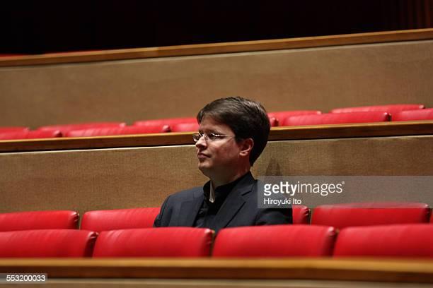 Juilliard organists at Paul Hall on April 30 2015This imagePaul Jacobs
