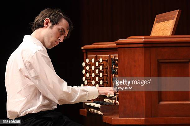 Juilliard organists at Paul Hall on April 30 2015This imageRyan Kennedy