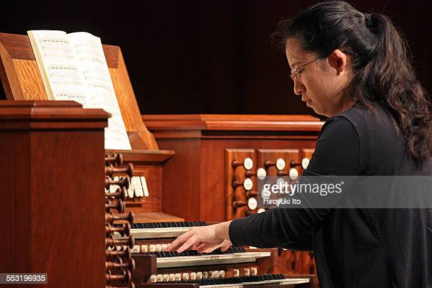 Juilliard organists at Paul Hall on April 30 2015This imageYinying Luo