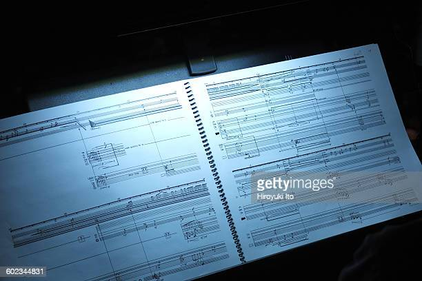 Juilliard School's ChamberFest 2016 at Peter Jay Sharp Theater on Saturday night January 16 2016This imageScore for Jacob Druckman's Animus 2 for Two...