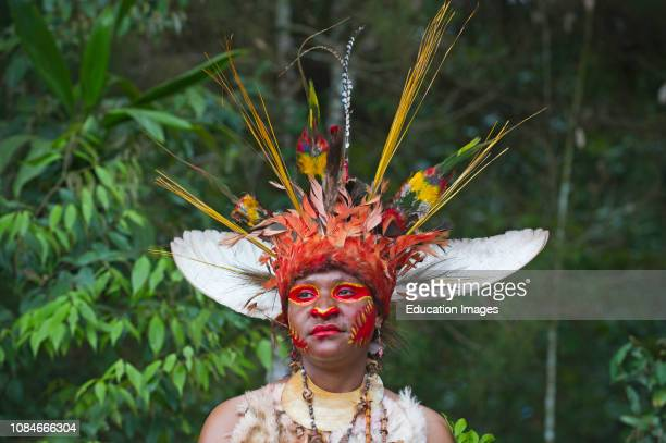 Juiwika Tribe from Western Highlands at Singsing at the Paiya Show in Papua New Guinea