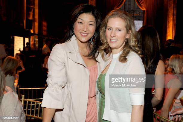 Juju Chang and Natalie Kaplan attend FASHION SHOW and LUNCHEON for AKRIS at Cipriani 42nd Street on May 14 2009 in New York City