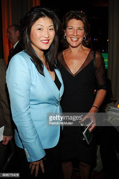 Juju Chang and Sheri Weston attend THIRTEEN and WLIW 21 Annual Gala Salute at Gotham Hall on April 30 2007 in New York City