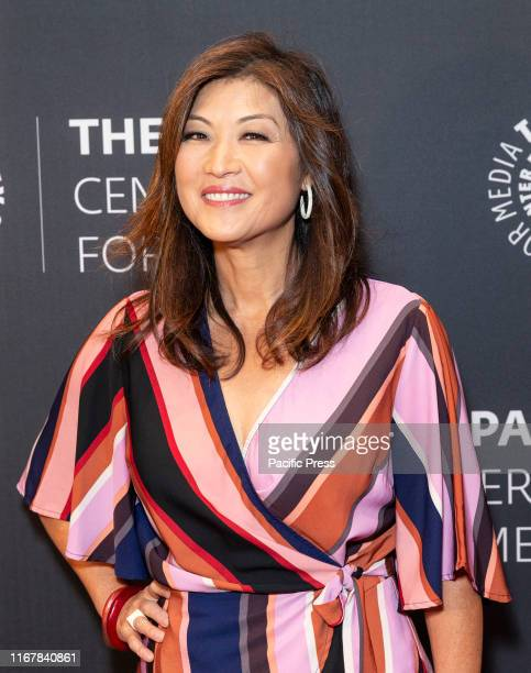 Juju Chang attends Paley Honors Luncheon Celebrating Michael Douglas at Paley Center for Media