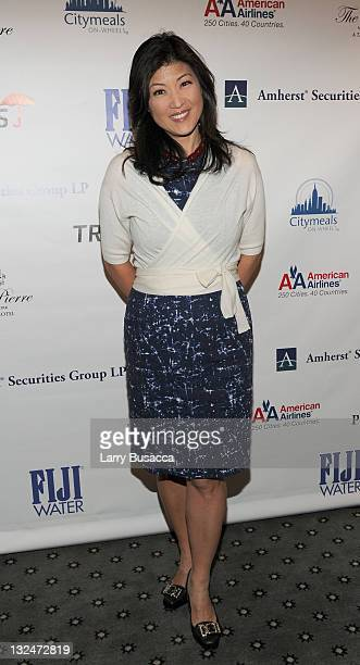 Juju Chang attends the 24th Annual Power Lunch For Women hosted by CityMealsonwheels at The Pierre Hotel on November 12 2010 in New York City