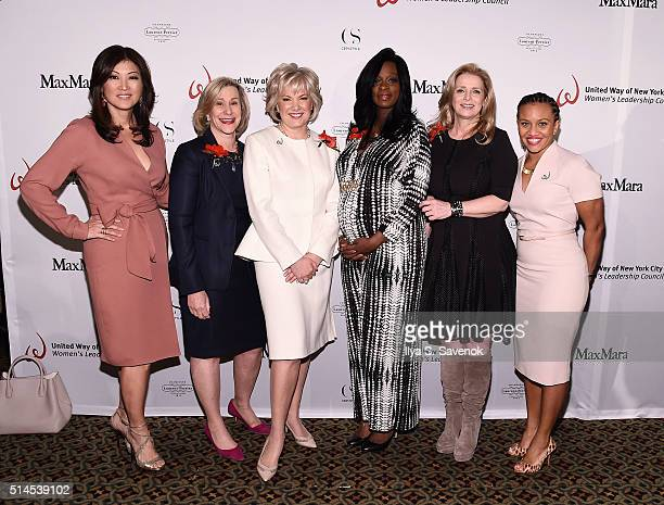Juju Chang, Laurie Tisch, Jennifer Warren, Monique Nelson, Martine Reardon and Sheena Wright attend the 10th Annual United Way Of NYC Women's...