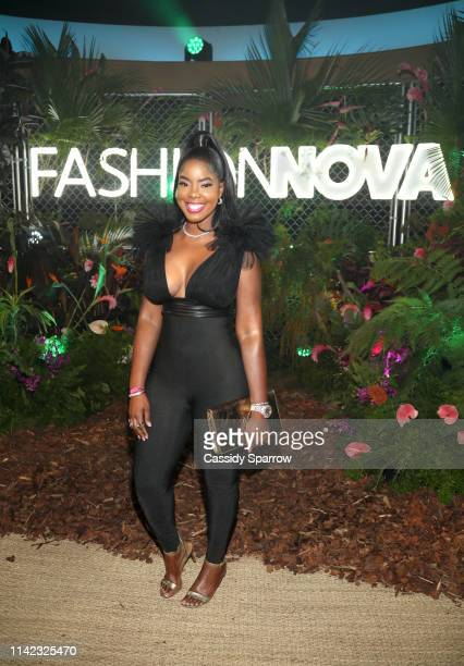Juju is seen as Fashion Nova Presents Party With Cardi at Hollywood Palladium on May 8 2019 in Los Angeles California