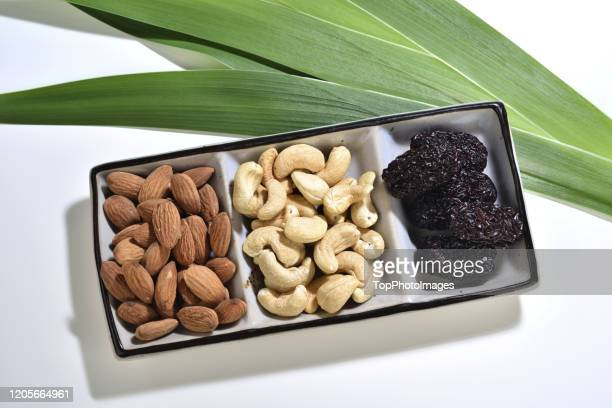 jujube cashews almond plate