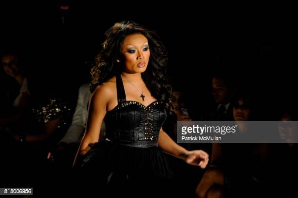 Jujubee attends Richie Rich 2011 Fashion Show at The Studio at Lincoln Center on September 9 2010 in New York City