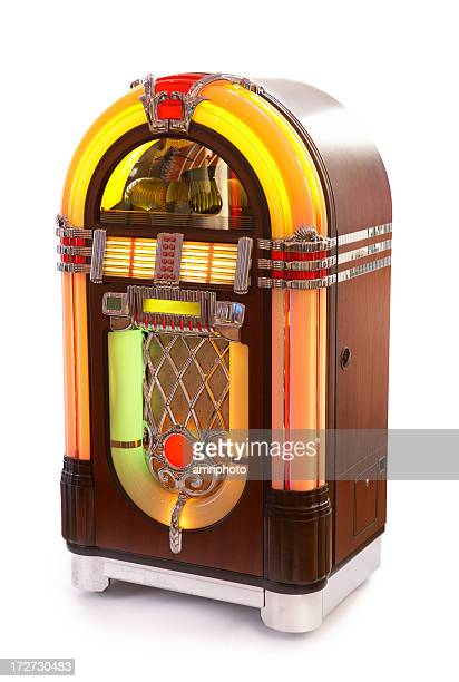 jukebox on white