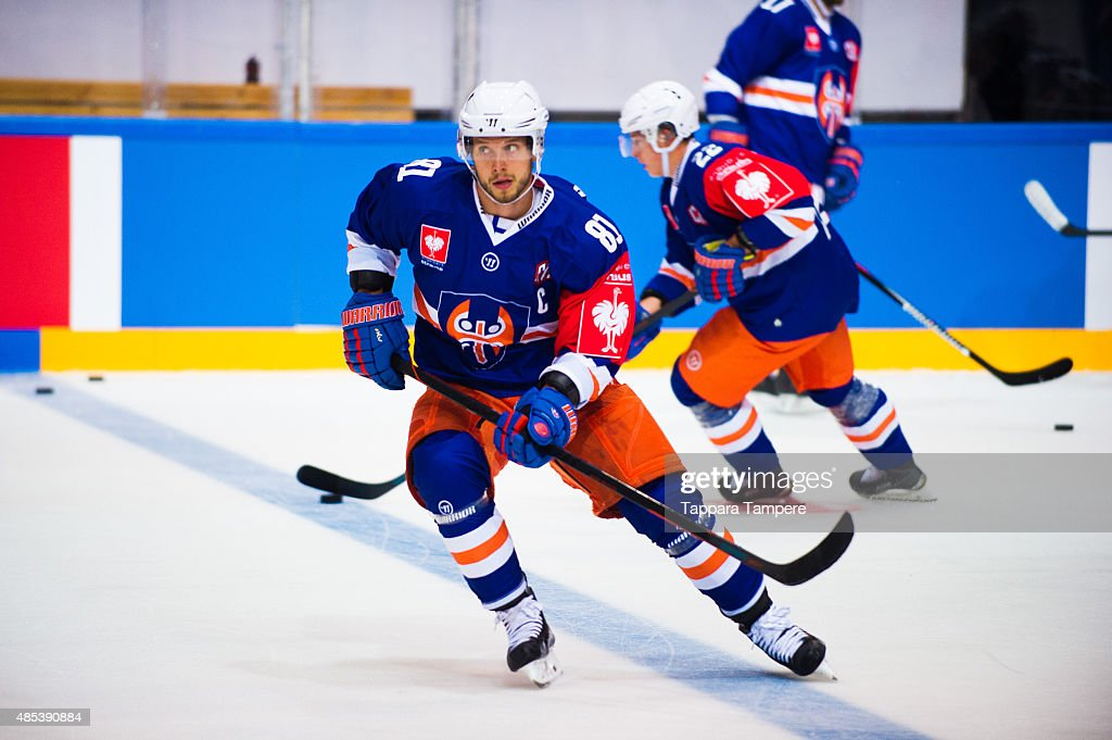 Tappara Tampere v Djurgarden Stockholm - Champions Hockey League : News Photo