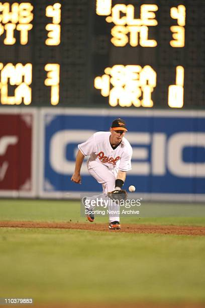 Jul 14 2006 Baltimore MD USA Philadelphia Phillies against Baltimore Orioles JEFF CONINE at Orioles Park at Camden Yards in Baltimore Md on June 28...