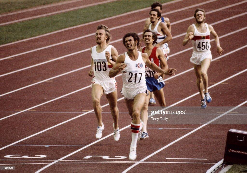 1976 Summer Olympics Juantorena : News Photo