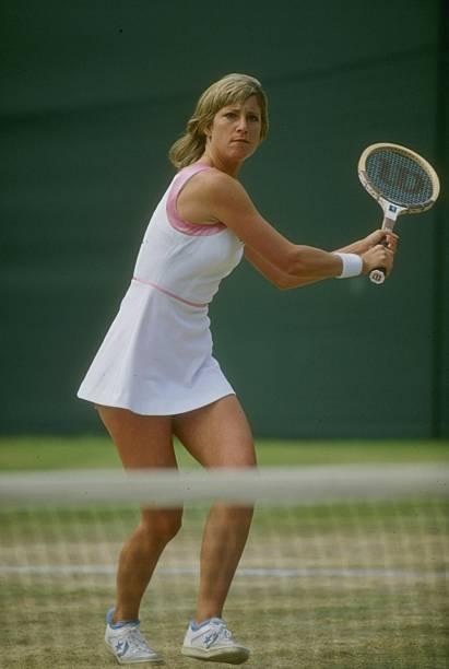 Wimbledon Evert