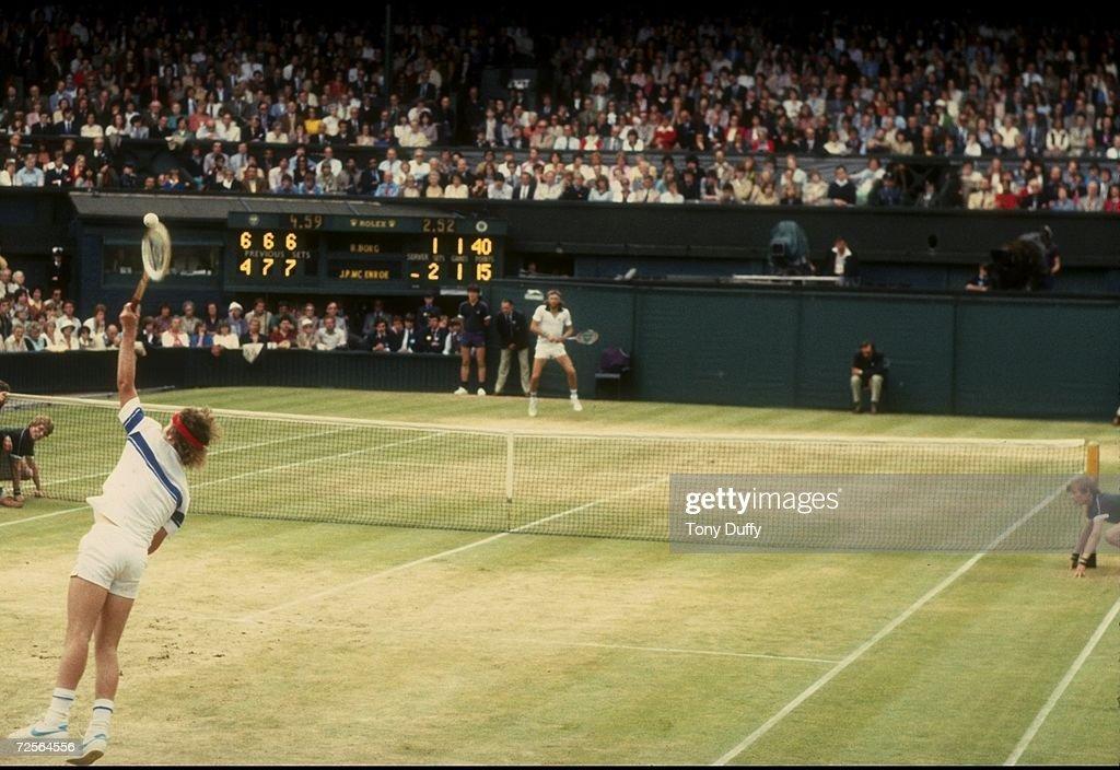 Wimbledon McEnroe : News Photo