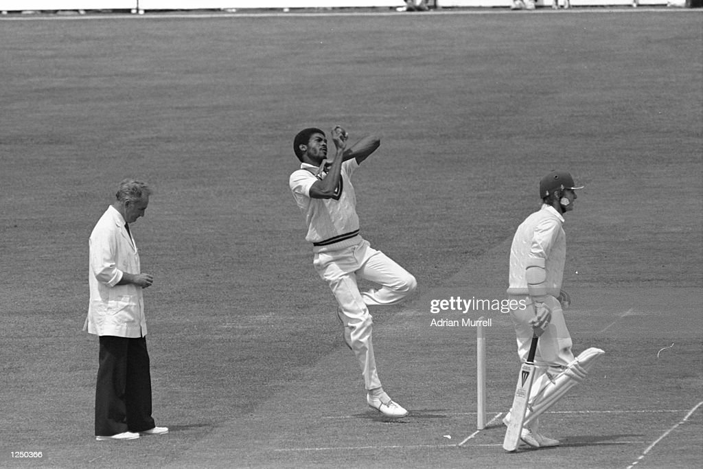 Michael Holding... : News Photo