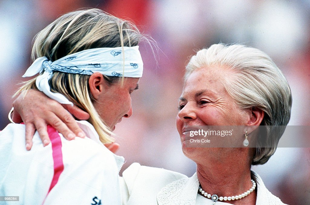 Novotna & Duchess of Kent : News Photo