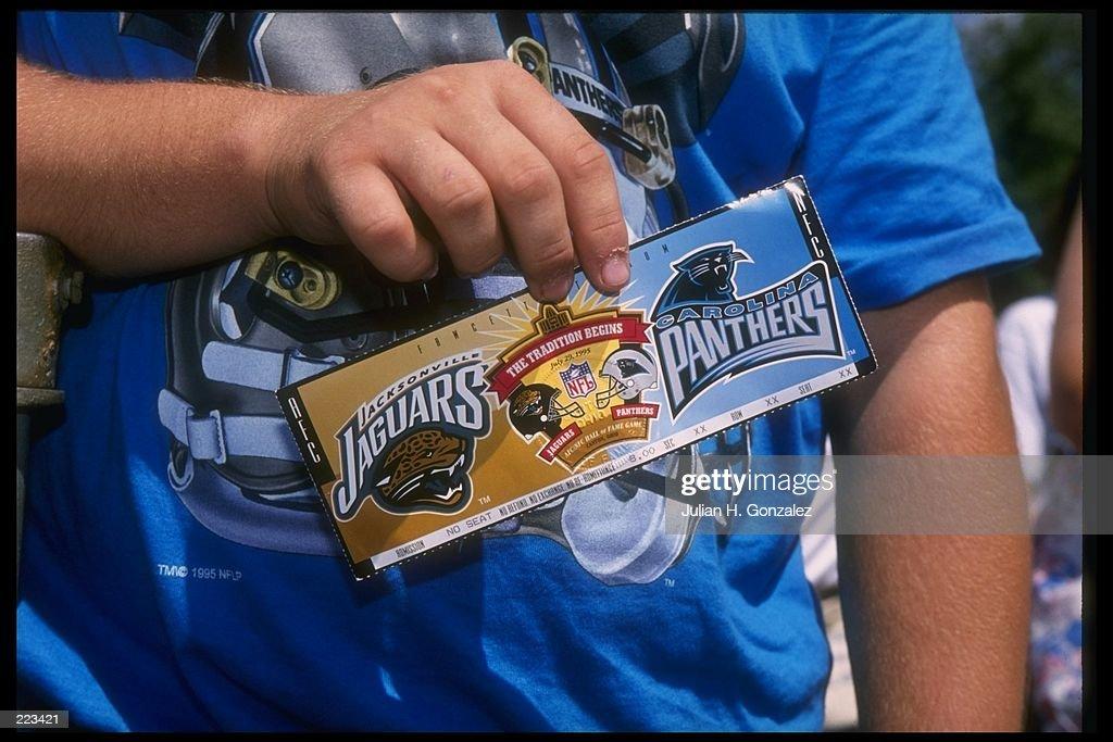 Jaguars V Panthers : News Photo