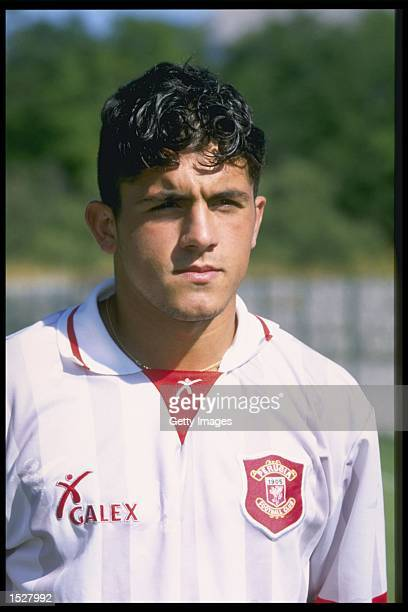 A portrait of Ivan Gattuso of Perugia football club Mandatory Credit Allsport UK