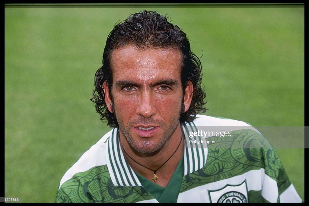 A portrait of Paulo Di Canio of Celtic : News Photo