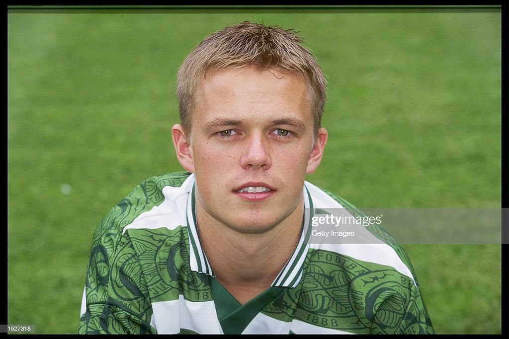 A portrait of Simon Donnelly of Celtic : News Photo