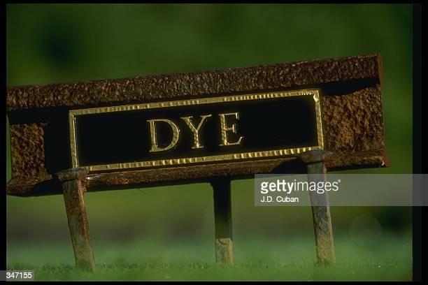 General view of the John Dye Golf Club in Bridgeport West Virginia Mandatory Credit J D Cuban /Allsport