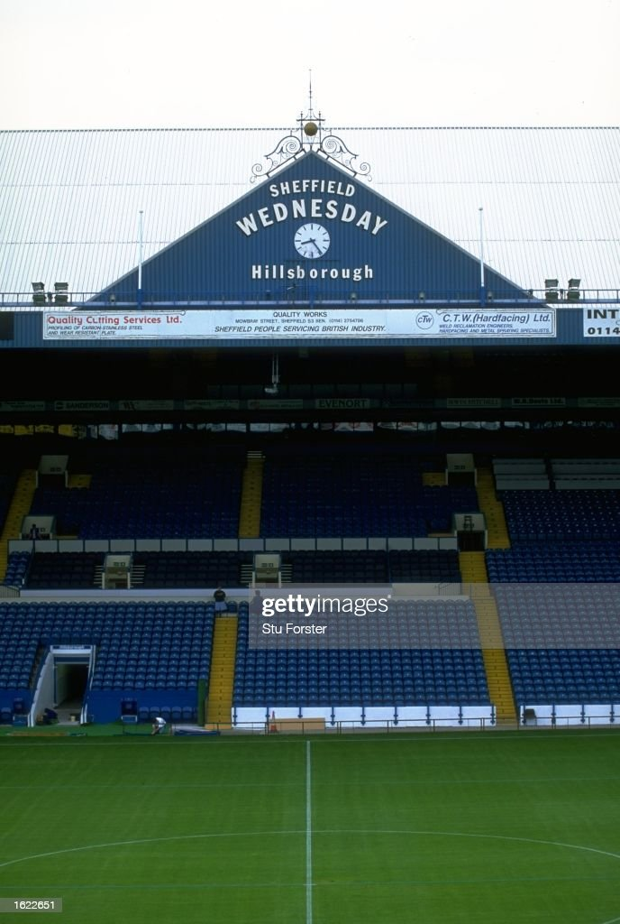 A general view of Hillsborough : News Photo