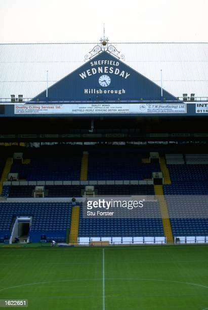 A general view of Hillsborough home to Sheffield Wednesday Football Club in Sheffield England Mandatory Credit Stu Forster /Allsport