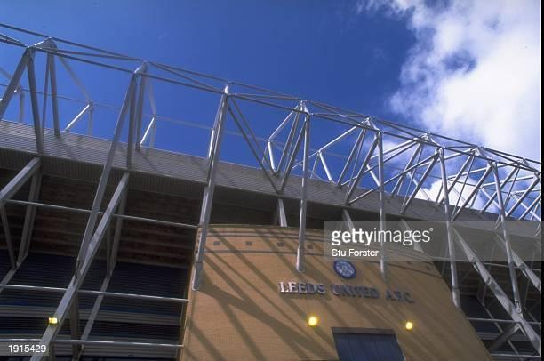 General view of Elland Road stadium home of Leeds United FC in Leeds England Mandatory Credit Stu Forster /Allsport