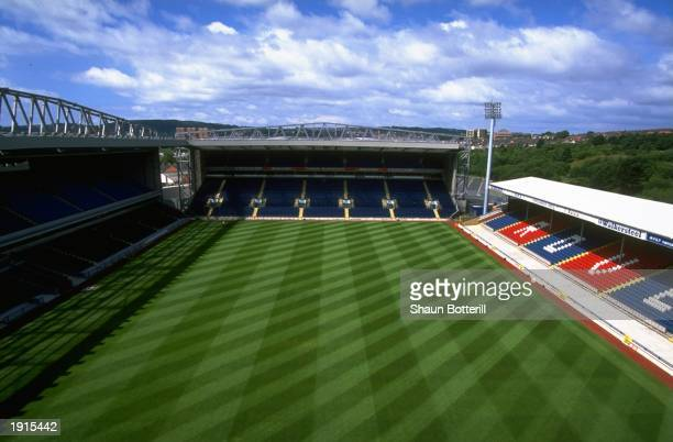 General view of Ewood Park home of Blackburn Rovers FC in Blackburn England Mandatory Credit Shaun Botterill /Allsport