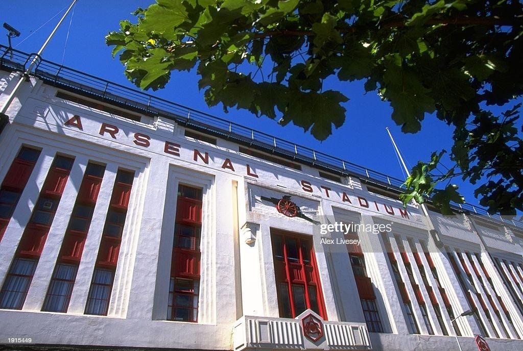 General view of Highbury stadium home of Arsenal FC in London, England. \ Mandatory Credit: Alex Livesey /Allsport