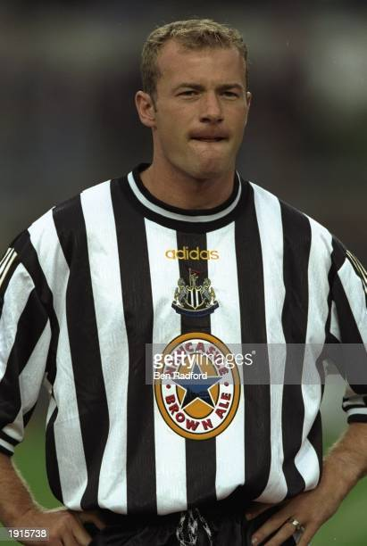 Portrait of Alan Shearer of Newcastle United taken during their preseason friendly against Derry at Lansdowne Road in Dublin Ireland Mandatory Credit...