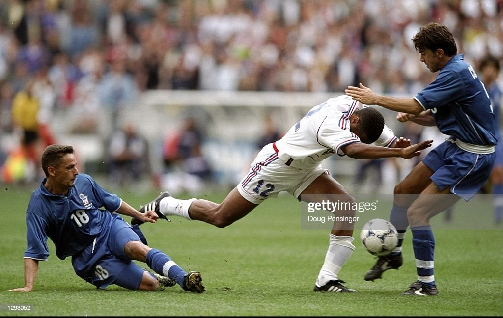 Thierry Henry, Roberto Baggio and Alessandro Costacurta : Photo d'actualité