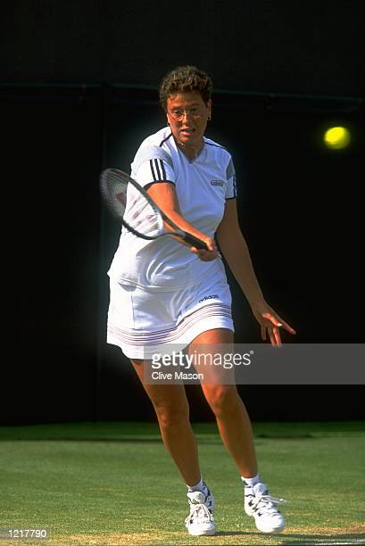 Jo Durie of Great Britain in action during day twelve of the Wimbledon Championships Tournament held at the All England Lawn Tennis Club in Wimbledon...