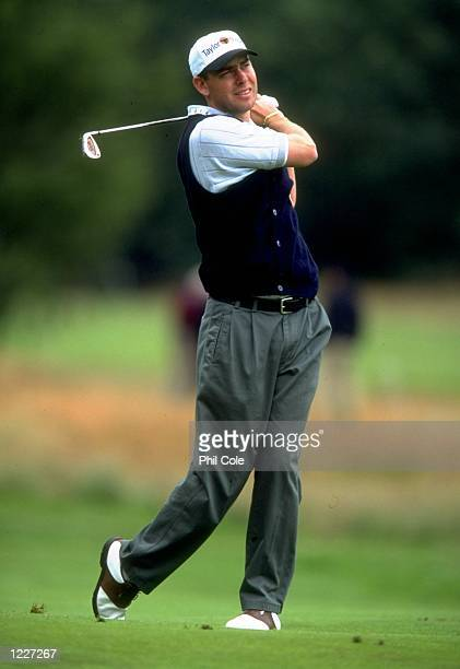 Kim Felton of Australia in action during the TNT Dutch Open played at the Hilversumsche Golf Club Hilversumsche Holland Mandatory Credit Phil Cole...