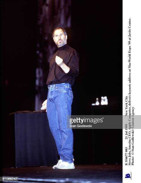 Jul 1999 New York City Steve Jobs, Interim Ceo, Apple Computer, Delivers Keynote Address At Macworld Expo '99 At Javits Center.