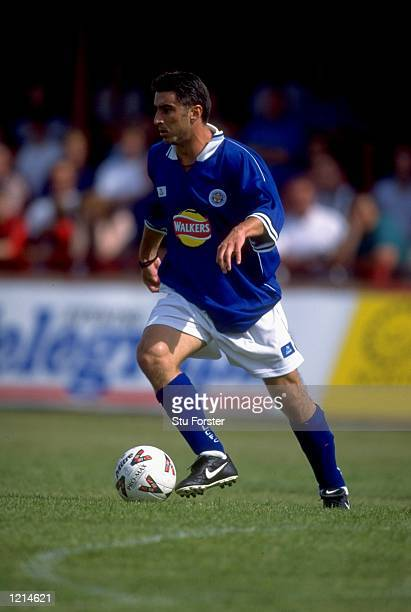 Theo Zagarakis of Leicester City during the preseason friendly against Kettering Town at Rockingham Road in Kettering England Mandatory Credit Stu...