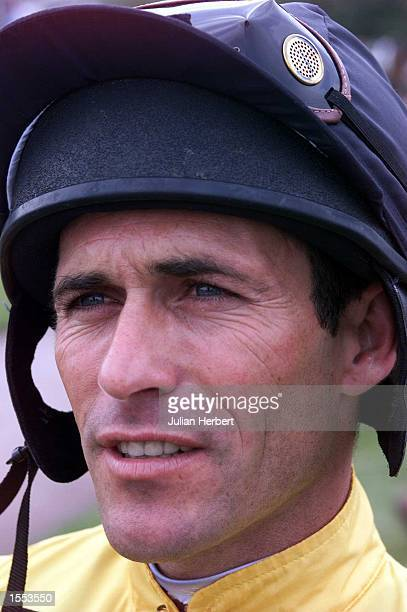 Top American jockey Gary Stevens before he brought Danish Rhapsody home to land The Theo Fennell Glorious Rated Stakes run on the third day of The...